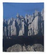Tsingy De Bemaraha Madagascar Fleece Blanket