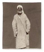 Turkestan Mazang, C1865 Fleece Blanket