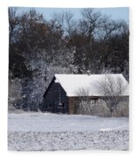 Turn The Page Winter Edition Fleece Blanket