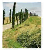 Tuscany Landscape Fleece Blanket