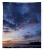 Tynemouth Sunrise Fleece Blanket