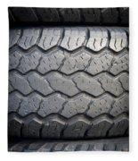 Tyre Tread Fleece Blanket