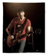 U2 - The Edge Fleece Blanket