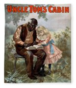 Uncle Toms Cabin, C1899 Fleece Blanket