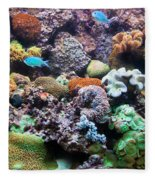 Underwater View Fleece Blanket