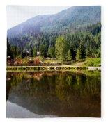 Vail Reflections Fleece Blanket