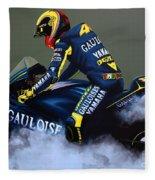 Valentino Rossi Fleece Blanket