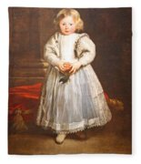 Van Dyck's Maddalena Cattaneo Fleece Blanket