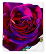 Velvet Rose Fleece Blanket