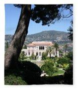 Villa Ephrussi De Rothschild Fleece Blanket