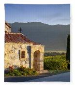 Vineyard Prayer Chapel Fleece Blanket