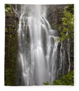 Wailua Falls II Fleece Blanket