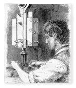 Watchmaker, 1869 Fleece Blanket