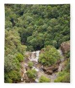 Waterfall Valley Fleece Blanket