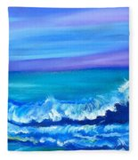 Wave Fleece Blanket