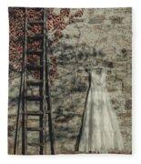 Wedding Dress Fleece Blanket