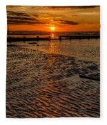 Welsh Sunset Fleece Blanket