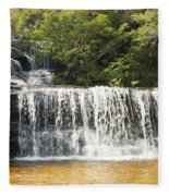 Wentworth Falls Blue Mountains Fleece Blanket