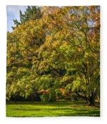 Westonbirt Arboretum Fleece Blanket