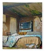 Where Do They Sleep Now Fleece Blanket