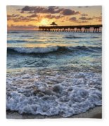 Whipped Cream Fleece Blanket