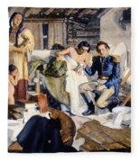 William Beaumont Fleece Blanket
