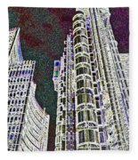 Willis Group And Lloyd's Of London  Fleece Blanket