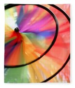 Wind Wheel Fleece Blanket