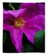 Withered Rose Fleece Blanket