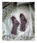 Woollen Socks Fleece Blanket