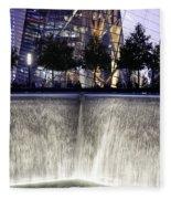 World Trade Center Museum Fleece Blanket