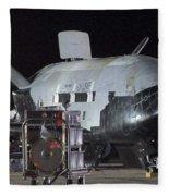 X-37b Orbital Test Vehicle, Post-landing Fleece Blanket
