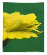 Yellow Fleece Blanket