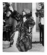 Sarah Bernhardt (1844-1923) Fleece Blanket