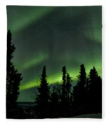 The Aurora Borealis Fleece Blanket