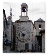 Views Of Split Croatia Fleece Blanket