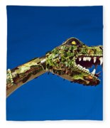 2015 Rose Parade Float Showing A Dragon 15rp040 Fleece Blanket