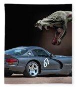 2002 Dodge Viper Fleece Blanket