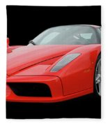 2002 Enzo Ferrari 400 Fleece Blanket