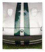 2005 Jaguar Xkr Stirling Moss Signature Edition Fleece Blanket