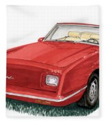 2006 Studebaker Avanti Fleece Blanket