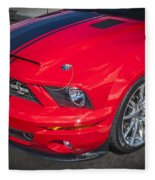 2007 Ford Mustang Shelby Gt500 427  Fleece Blanket