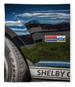 2007 Ford Mustang Shelby Gt500 Painted   Fleece Blanket