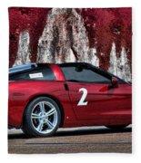 2008 Corvette Fleece Blanket