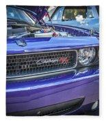 2008 Dodge Challenger Rt Fleece Blanket