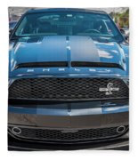 2008 Ford Shelby Mustang Gt500 Kr Painted Fleece Blanket