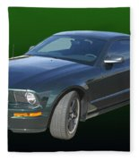 2008 Mustang Bullitt Fleece Blanket