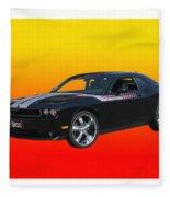 2010 Dodge Challenger Fleece Blanket