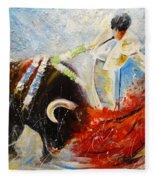 2010 Toro Acrylics 02 Fleece Blanket