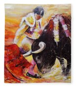 2011 Toro Acrylics 01 Fleece Blanket